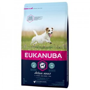 Eukanuba Active Adult Small Breed, kurczak 3kg