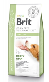 Brit Veterinary Diets Dog Grain Free Diabetes 2kg