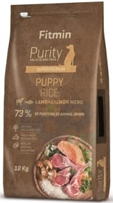 FITMIN Purity Puppy Lamb, Salmon & rice 12kg