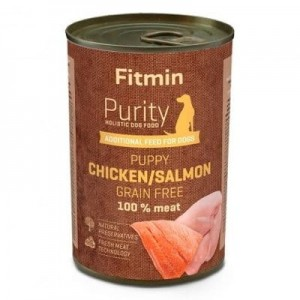 FITMIN Dog Purity Tin Puppy Salmon With Chicken